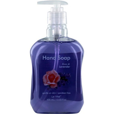 Le Vital 1930972 Rose & Lavender Hand Soap - Case of 12