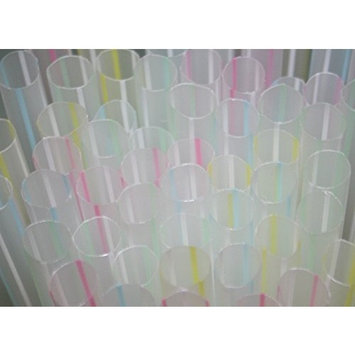 AMK 160 Count EXTRA WIDE Fat Boba Drinking Straw 8 1/2