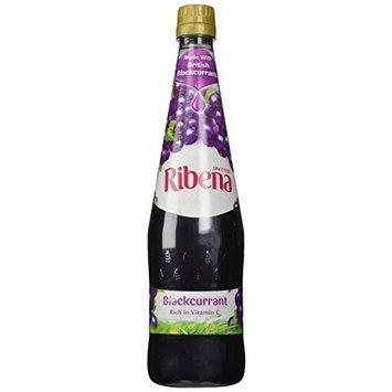 Ribena Blackcurrant Concentrate 1-liter Bottle Pack of 3