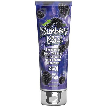 Fiesta Sun BLACKBERRY BLAST 25x Bronzer Tanning Lotion 8 oz.
