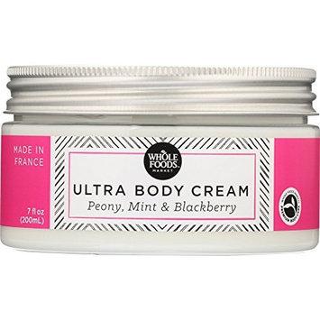 Whole Foods Market, Ultra Body Cream Peony, Mint & Blackberry, 7 oz