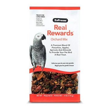 ZuPreem Real Rewards Orchard Mix Treats for Large Birds