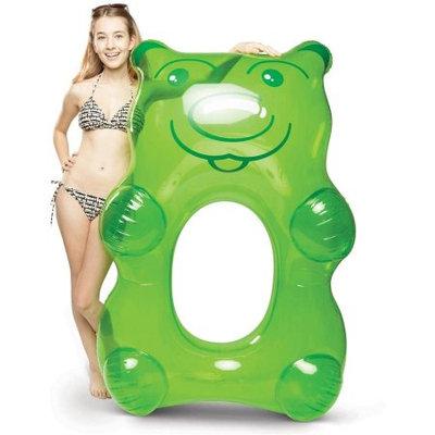 Big Mouth Toys BigMouth Inc Giant Green Gummy Bear Pool Float - 5 Feet