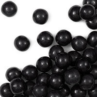 Oriental Trading Company Black Large Gumballs - Solid Color Party Supplies & Solid Color Candy