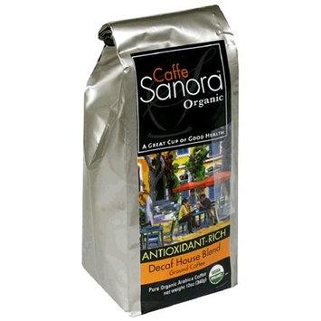 Wellements 141414 Caffe Sanora Organic Coffee Sig. Decaf Ground