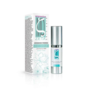 Advanced Eye Cream by ZetaMD Organics - Anti Aging Firming Restorative Formula with Natural Vegan Matrixyl 3000, Retinol and Tripeptide-5 (0.5 oz)