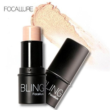 Lookatool BLING Focallure Highlight Powder Stick Gold Shade And Silver (G