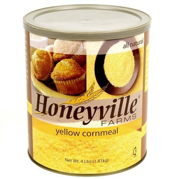 Yellow Corn Meal - 6 Can Case - 24 Pounds