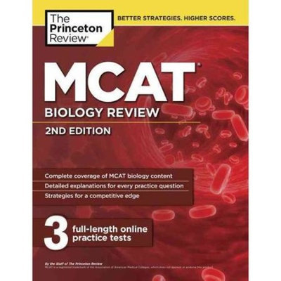 The Princeton Review MCAT Biology Review