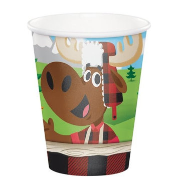 Lumberjack 9oz Hot/Cold Cups (8 ct)