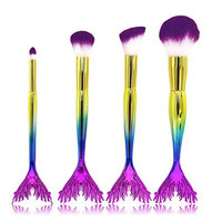 Makeup Brush Set,Putars 4 Pieces Professional Women Sexy Face Eyebrow Eyeliner Foundation Blush Cosmetic Concealer Brushes