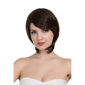 PINKISS Women's Premium Fashion Hair Replacement Wig with Super Breathable Wig Cap (BROWN / SS422-#6)