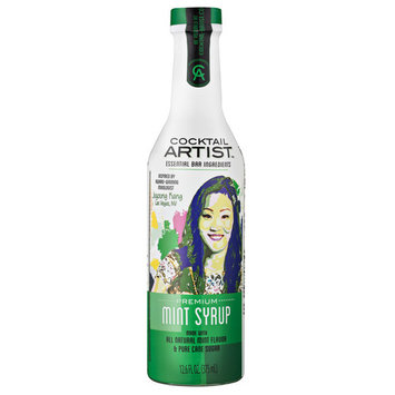 Cocktail Artist Essential Bar Ingredients Premium Mint Syrup, 12.6 fl oz