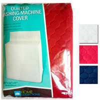 Atb 2 Pc Quilted Fabric Washing Machine Cover Dust Free Appliance Cover 30x26x41