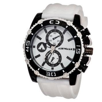 Airwalk™ Rubber Strap Analog Watch - White