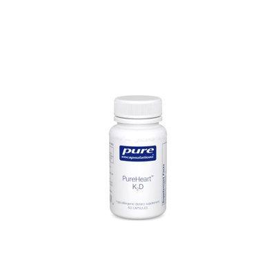 Pure Encapsulations - PureHeart K2D - 60 Capsules
