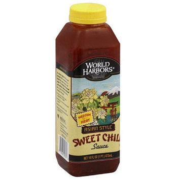 World Harbors Asian Style Sweet Chili Sauce, 16 fl oz, (Pack of 6)