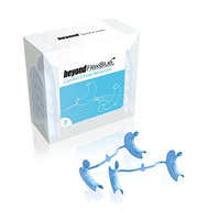 BEYOND FLEXIBLUE Comfort Cheek Retractors | Disposable Dental Cheek Retractors | Plastic Mouth Opener | Medium