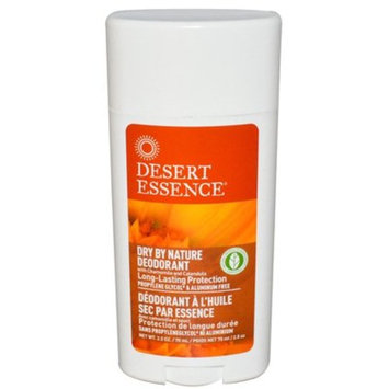 Desert Essence Dry By Nature Deodorant Chamomile and Calendula -- 2.5 oz
