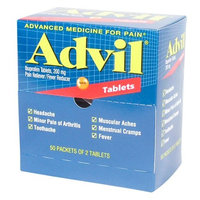 Advil Pain Relief Tablets Ibuprofen 200 mg. 100 Tab. / Box by Medique - MS73040