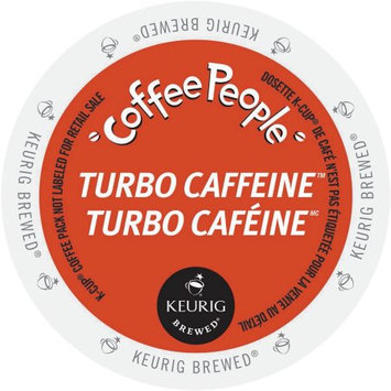 Gmcr Coffee People Turbo Caffeine, K-Cup Portion Pack for Keurig Brewers (24 Count)