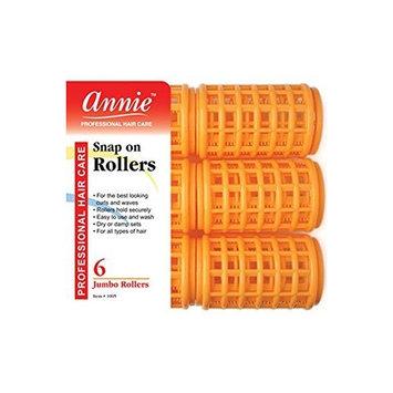 (3 Packs) Annie Snap on Rollers Jumbo 11/2\