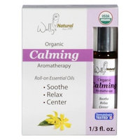 Wally's Natural Organic Calming Roll on Essential Oil 0.33 oz