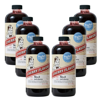 Hires Big H Cherry Syrup, Great for Soda Flavoring 6-Pack