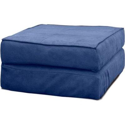 Your Zone Flip Ottoman, Blue
