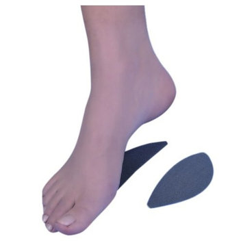 NEO G Adhesive Silicone Longitudinal Arch Support - LARGE - Medical Grade Quality, Premium Quality Silicone HELPS flat feet, fallen arches, support arch, reduce stretching & tension - Unisex