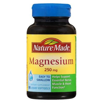 Nature Made Magnesium 250 mg Dietary Supplement Tablets