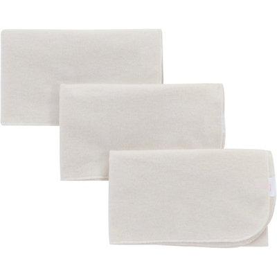 NuAngel Natural Cotton Flat Diaper, 3 Count
