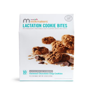 Milkmakers Chocolate Chip Lactation Cookie Bites, 10 Pack