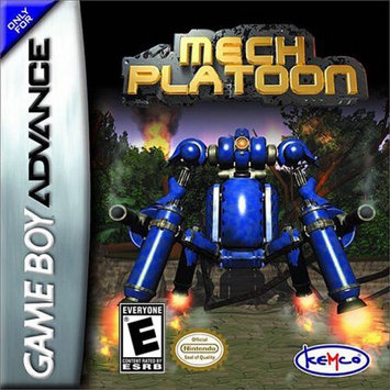 Game Boy Advance Mech Platoon GBA