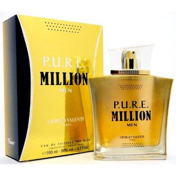PURE P.U.R.E. MILLION by Giorgio Valenti 3.3 / 3.4 oz edt Cologne * New In Box