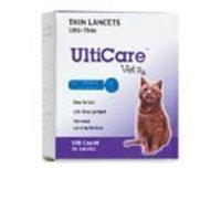 UltiCare VetRx Ulti-Thin Lancets, 28-Gague, 100 Per Box