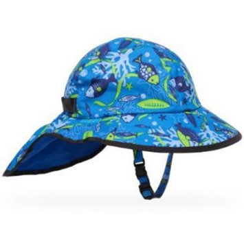 Sunday Afternoon Kid's Blue Aquatic Chin Strap Play Sun Hat (Baby, 6-24 Months)