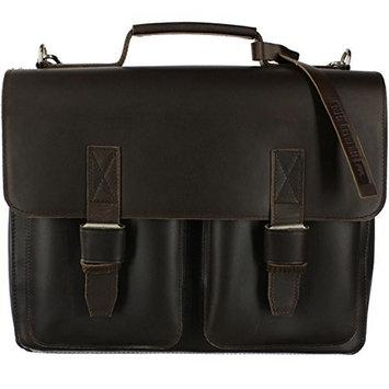 Leonhard Heyden Salisbury 1 Compartment Briefcase Brown 7610-003