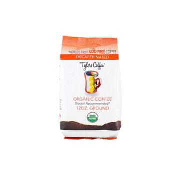Tylers Acid Free Coffee 12oz Decaf Ground Bag Acid Free Coffee