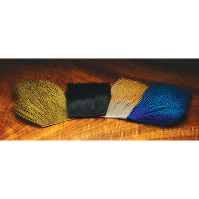 Hareline Dyed Deer Body Hair - All Colors