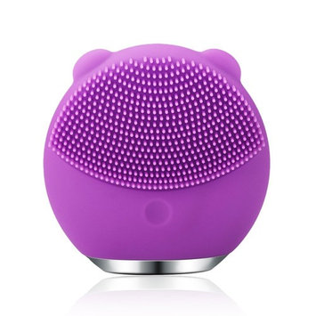 Sonic Face Cleanser massager Brush Facial Cleansing Massage silicone Vibrating Waterproof Facial Cleansing System Rechargeable …