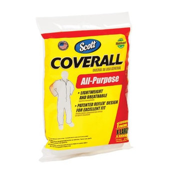 KleenGuard All-Purpose Painter's Coverall-XL WHITE AP COVERALL