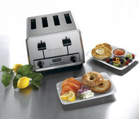 Waring Commercial Toaster - 380 Slices/Hr, 4 Slots WCT805B