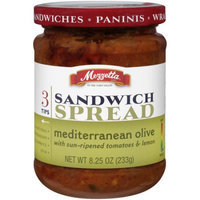 Mezzetta Mediterranean Olive Sandwich Spread with Sun Ripened Tomatoes & Lemon, 8.25 oz