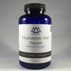 Hyaluroinc Acid Serum Wasatch Naturals 12 oz Liquid