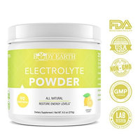 Workout Recovery Electrolyte Powder Mix: Body Earth Pre & Post Workout Electrolyte, Energy & Stamina Replacement Supplement -Zero Calorie, Sugar Free, Gluten-Free, Non-GMO, Vegan Hydration Drink Mix
