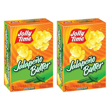 Jalapeno Butter Microwave Popcorn, 6 Bags Count