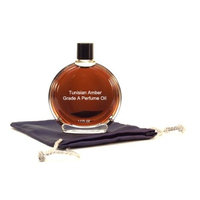 Tunisian Amber Perfume Oil - 1.7 oz in Premium Glass Bottle