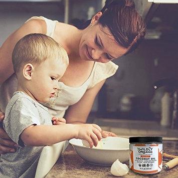 Wildly Organic Coconut Oil Refined (No Coconut Flavor or Scent, Expeller Pressed), Non-GMO, 14 FL OZ