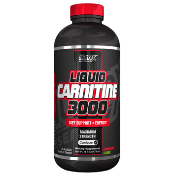 Nutrex Research Liquid Carnitine 3000 - Cherry Lime - 16 fl oz